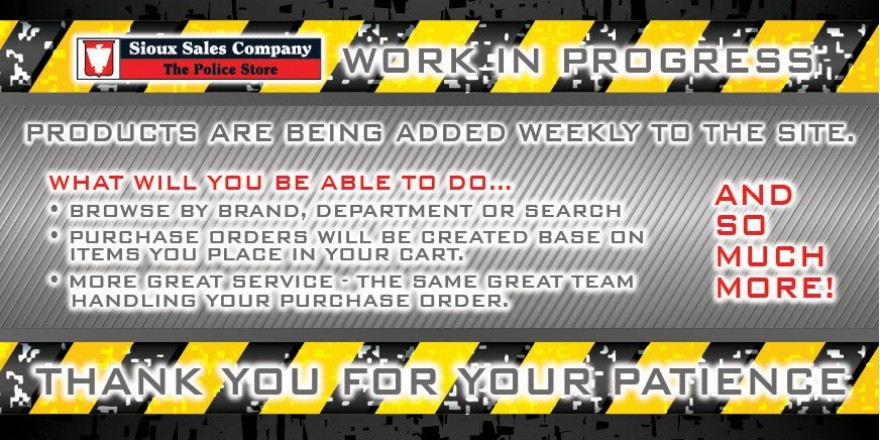 Work in Progress -  We are working on our new site - take a look again - we will be adding product weekly.